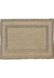 Capacho Natural Look 48X90 Cm Bege Sl1218-Cor2 Rayza