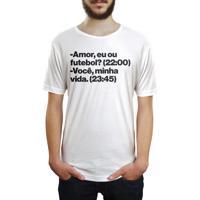 Compre Camiseta Attack Life Futebol Americano Explosivo Sublimada Preta  Branca por R  99.90. -26%. Camiseta Hunter Futebol Branca ba4e24138b877
