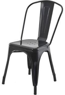 Cadeira Iron Tolix Preta - 22548 - Sun House