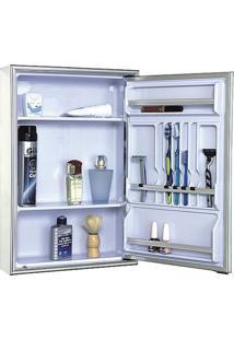 Armário De Embutir Liso 1 Porta 105 - 44X59Cm - Cris Metal