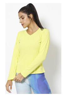 Lupo Camiseta Lisa Com Repelente Verde Neon