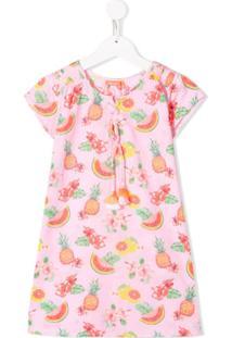 Sunuva Vestido Estampado - Rosa