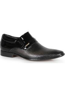 Sapato Social Texturizado Preto