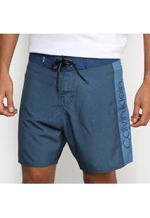 Boardshort Calvin Klein Masculino - Masculino-Azul Claro