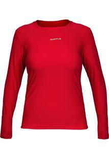 Camiseta Curtlo Active Fresh Ml - . Vermelho Gg - Kanui