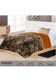 Cobertor Queen Dupla Face Duplo - Dakar