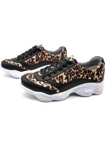 Tênis Sneaker Bmbrasil 251-02 Onça