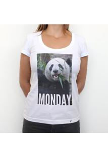 Monday - Camiseta Clássica Feminina
