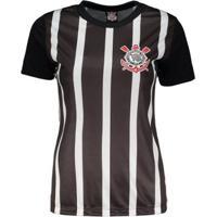 Camiseta Corinthians Tradição Democracia Feminina - Feminino dffe4e7509462