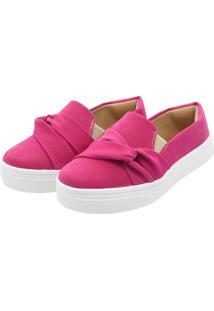 Tenis Hope Shoes Slipper Com Laã§O Cruzado Pink - Verde - Feminino - Dafiti