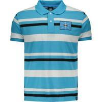 Camisa Polo Grêmio Listrada Masculina - Masculino 6e0786f143958