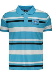 457cfaea22 Netshoes. Camisa Polo Grêmio Listrada Masculina - Masculino