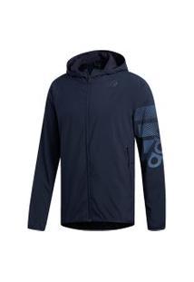Jaqueta Adidas Logo Azul
