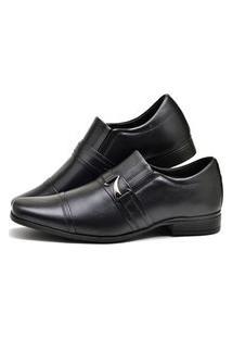 Sapato Masculino Social Em Couro Preto