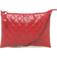 5fe215d98 Bolsa Tiracolo Capodarte Pequena Matelassê Vermelha