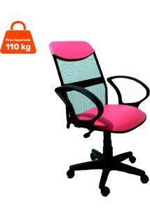 Cadeira De Escritório Diretor Costaneira Soft Rosa
