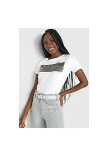 Camiseta Polo Wear Far Away Branca