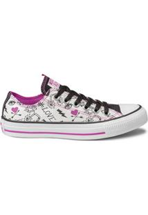 Tênis Feminino Casual Estampado Converse All Star Ct0816