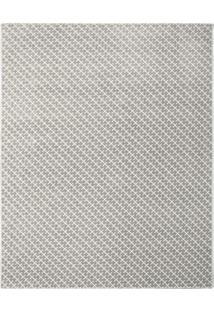 Tapete Classe A® Diagonal- Cinza & Off White- 160X10Tapete São Carlos