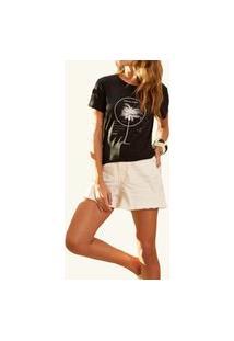 Camiseta Preta Com Estampa Sommer Preto