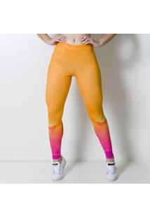 Calça Legging Kaisan Paint Art Feminina - Feminino