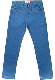 Calça Mini Sm Skinny Jeans Inv20 Reserva Mini Azul