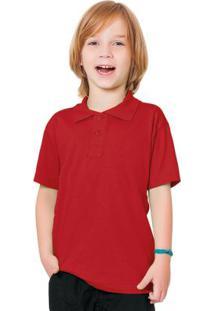 Camisa Pólo Vermelho Fakini Evedy Day