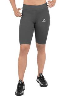 Bermuda Biker Solid Power Uv50 - Muvin - Feminino
