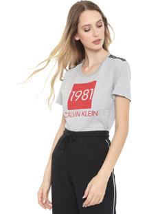 Camiseta Calvin Klein Underwear Lounge Cinza