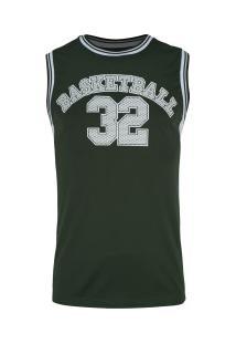 Camiseta Regata Adams Basketball Bas002 - Masculina - Verde
