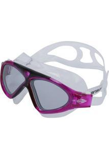 Óculos De Natação Mormaii Orbit - Adulto - Branco/Rosa Esc