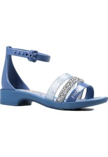 Sandália Infantil Grendene Frozen Azul