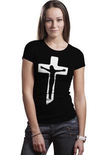 Camiseta Hunter Jesus Cristo Preta.