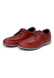Sapato Em Couro Hayabusa Enter 10 Vermelho