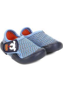 Sapato Infantil Klin Velcro New Confort - Masculino