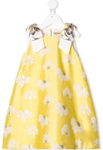 Hucklebones London Vestido Sem Manga - Amarelo