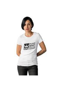 Camiseta Feminina Ezok Royal Brand Branco