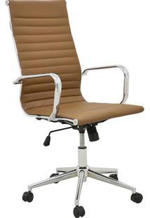 Cadeira Alta Oficce Pu Sevilha -Rivatti - Marrom