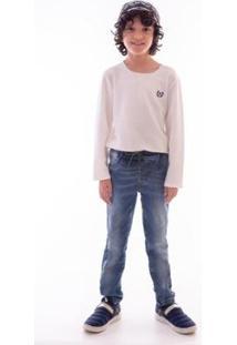 Calça Mrx Jeans - Masculino-Azul