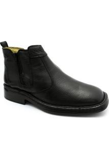 Bota Comfort Doctor Shoes - Masculino-Preto