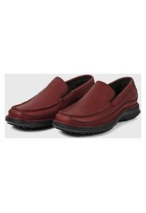 Sapato Em Couro Hayabusa Support 30 Vermelho