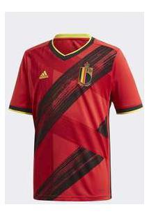 Camisa Adidas Bélgica 2019/2020 I Infantil