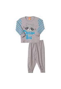 Conjunto Pijama Infantil Dream Big Mescla