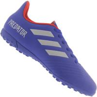 09a9790552 Centauro. Chuteira Society Adidas Predator 19.4 Tf - Adulto - Azul