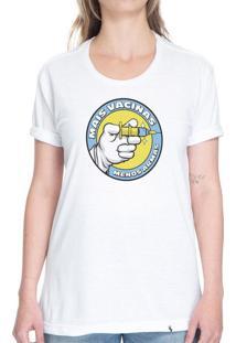Mais Vacinas, Menos Armas - Camiseta Basicona Unissex