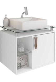 Gabinete De Banheiro Porto 1 Pt Branco