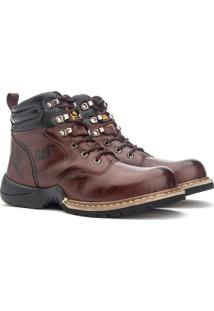 Bota Trivalle Caterpillar Adventure 1000 Marrom