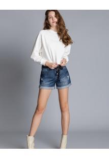 Shorts Jeans Sunset Cinto Jeans - Lez A Lez