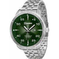 324931cf6e7 Relógio Xgames Xmss1033 E2Sx - Masculino-Prata+Verde