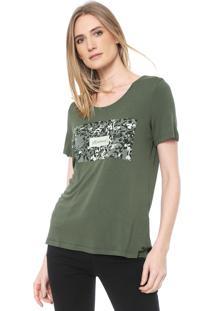 Camiseta Mob Camuflagem Verde